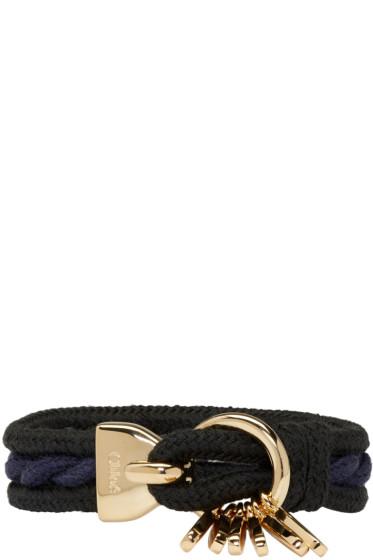 Chloé - Black Marin Bracelet