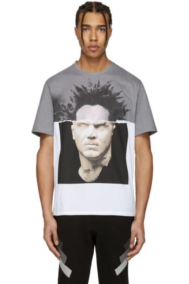 Neil Barrett - White Baskiat T-Shirt