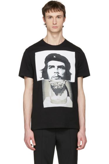 Neil Barrett - Black Marble Guevara T-Shirt
