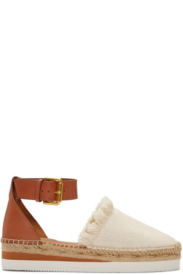 See by Chloé - Ivory Glyn Espadrilles
