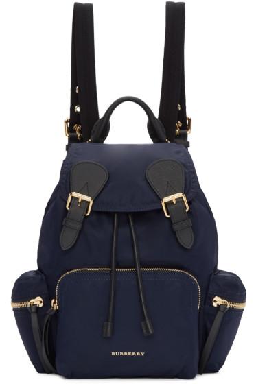 Burberry - Blue Medium Rucksack
