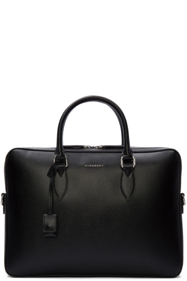 Burberry - Black Hambleton Briefcase