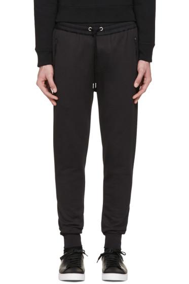Burberry - Black Haleford Lounge Pants
