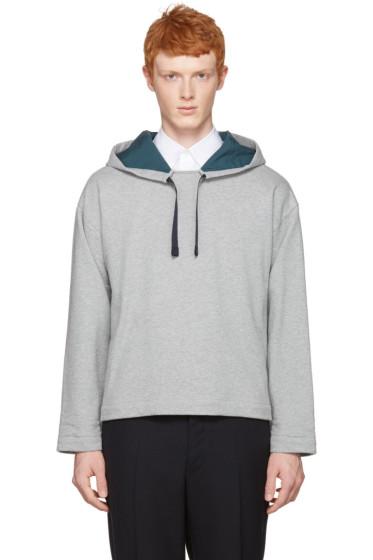Marni - Grey Velcro Hoodie