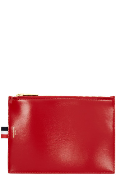 Thom Browne - Red Large Coin Pouch