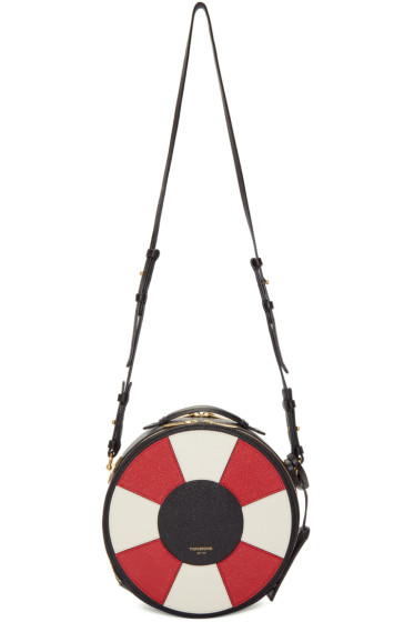 Thom Browne - Black Life Preserver Bag