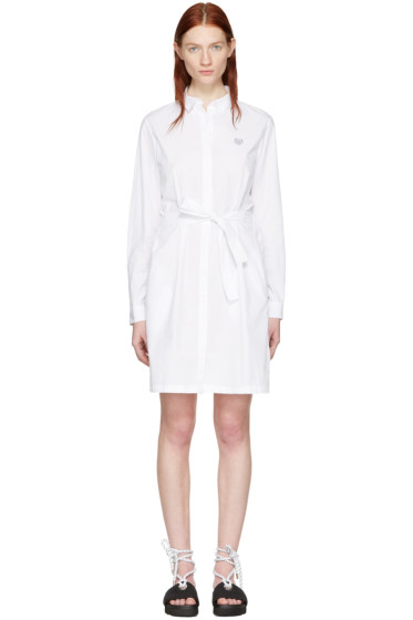 Kenzo - White Tiger Shirt Dress