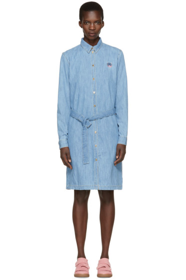 Kenzo - Blue Denim Shirt Dress