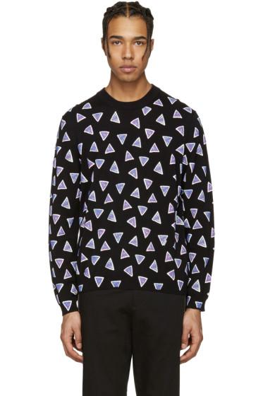Kenzo - Black Allover Triangle Sweater