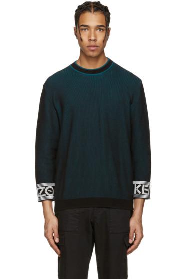 Kenzo - Black Logo Cuff Pullover