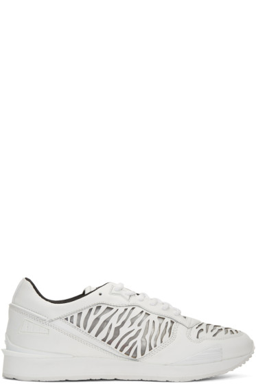 Kenzo - White Tiger Running Sneakers