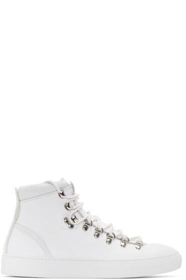 Diemme - White Marostica Mid-Top Sneakers