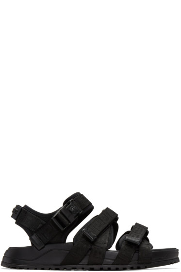 Versace - Black Hiking Sandals