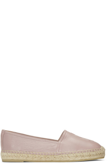 Saint Laurent - Pink 625 Monogram Espadrilles