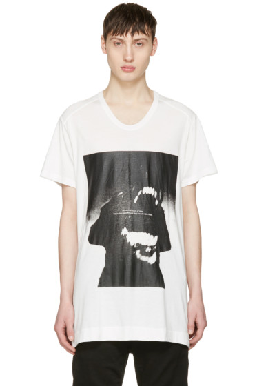 Julius - White Dog T-Shirt