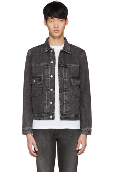 PS by Paul Smith - Grey Denim Western Jacket