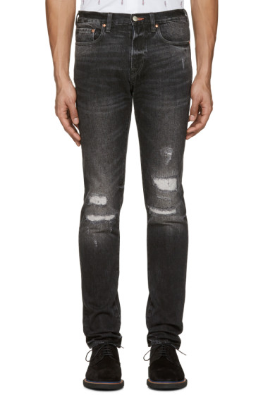 PS by Paul Smith - Black Slim Tapered Jeans
