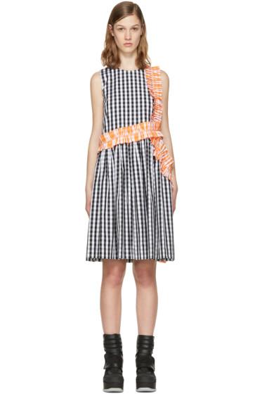 MSGM - Black Ruffle Picnic Dress