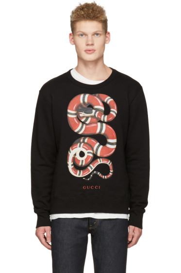 Gucci - Black Snake Pullover