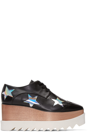Stella McCartney - Black Elyse Stars Derbys