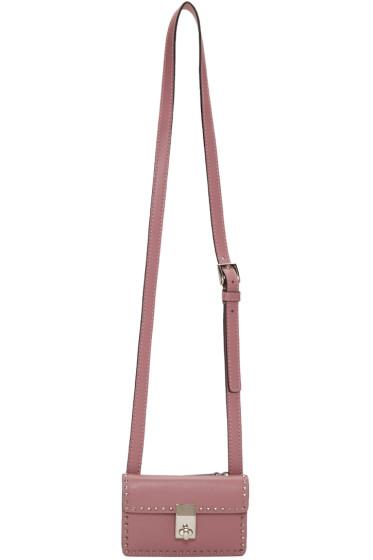 Valentino - Sac rose Mini Stud Stitching