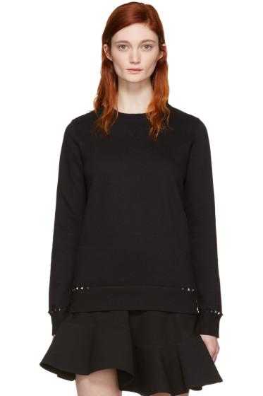 Valentino - Black Rockstud Untitled Pullover