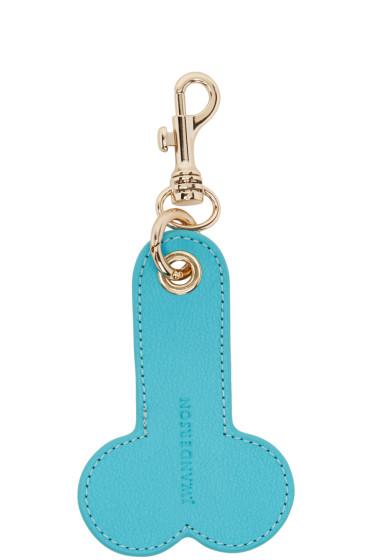 J.W.Anderson - Blue Penis Keychain