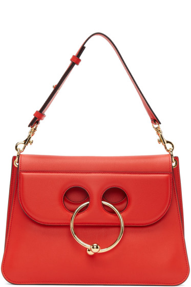 J.W.Anderson - Red Medium Pierce Bag