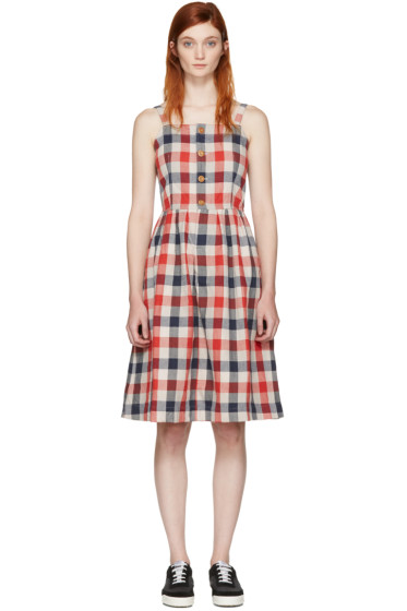 Visvim - Red Check Riviera Dress