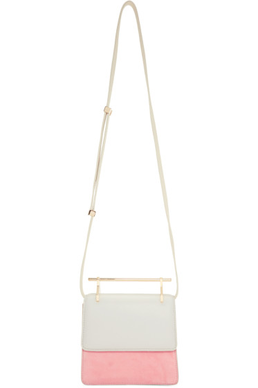 M2Malletier - Grey & Pink Mini Collectionneuse Bag