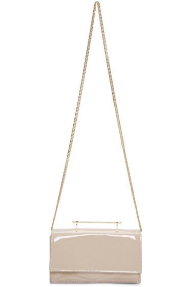 M2Malletier - Beige Patent Alexia Bag