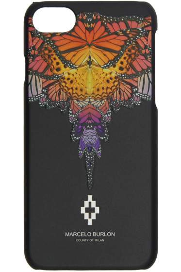 Marcelo Burlon County of Milan - ブラック フィリパ iPhone 7 ケース