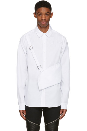 Hood by Air - White Celebutante Shirt