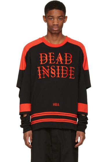 Hood by Air - ブラック Dead Inside プルオーバー