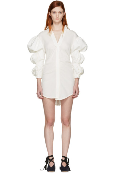 Jacquemus - Ecru 'La Robe Santon' Shirt Dress