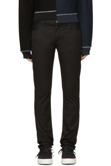 Christian Dada - Black Signature Super Skinny Trousers
