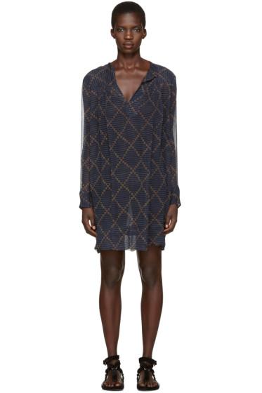 Isabel Marant Etoile - Navy Bertha Dress