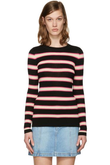 Isabel Marant Etoile - Black Striped Derring Pullover