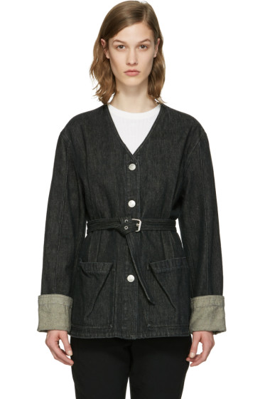 Isabel Marant - Black Denim Estil Jacket