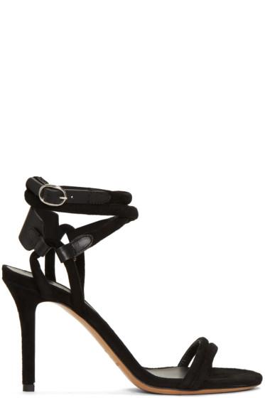 Isabel Marant - Black Aoda Heeled Sandals