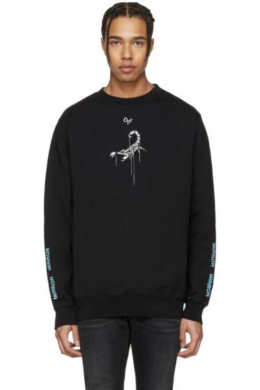 Off-White - Black Othelo's Scorpion Sweatshirt