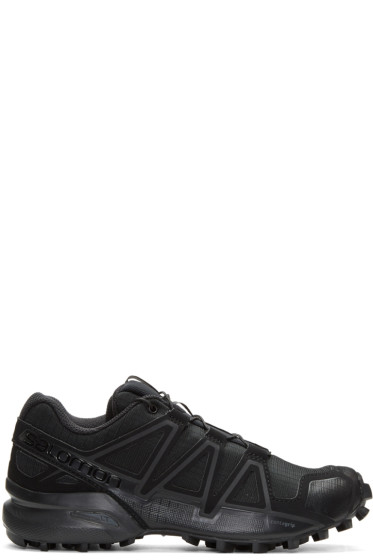 Boris Bidjan Saberi - Black Salomon Edition Speedcross 4 Sneakers
