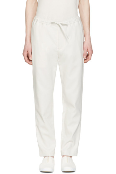 Undecorated Man - Grey Drawstring Trousers