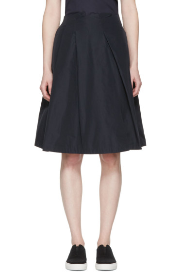 Jil Sander Navy - Navy Full Skirt