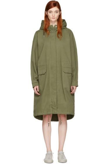 Won Hundred - Green Amara 2 Coat