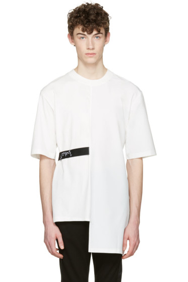 D by D - White Back Tape T-Shirt