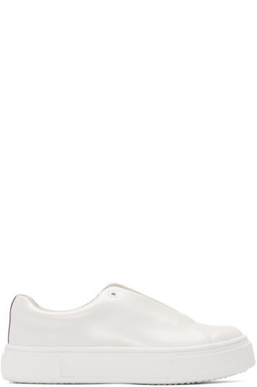 Eytys - Off-White Leather Doja Sneakers