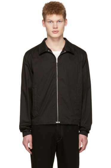 Lemaire - Black Windbreaker Jacket