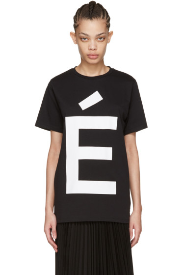 Etudes - Black Page Accent T-Shirt