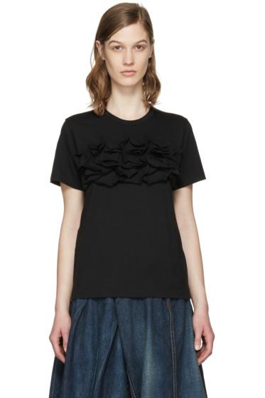 Comme des Garçons Comme des Garçons - Black Ruffle T-Shirt